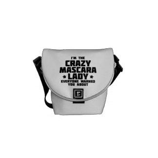 I'm the crazy mascara lady - Younique Courier Bag
