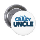 I'm the Crazy Uncle 2 Inch Round Button