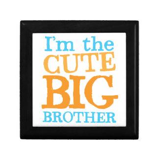I'm the CUTE Big brother Keepsake Box