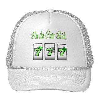 I'm the Cute Irish.. 777 Cap Mesh Hat