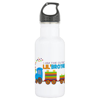 I'm the cutest Lil' Brother Stainless Steel Water Bottle
