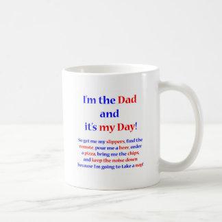 I'm the Dad! Classic White Coffee Mug