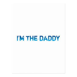 I'm The Daddy - Blue - Postcard