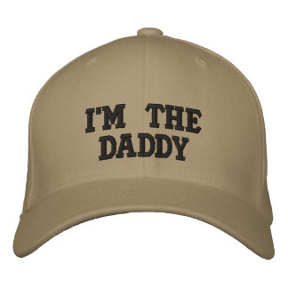 I'M the Daddy Custom Baseball Cap