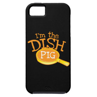 I'm the DISH PIG with a saucepan iPhone SE/5/5s Case