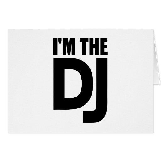 I'm the DJ Greeting Card