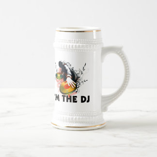 I'm The DJ Rockin The Turntables Beer Stein