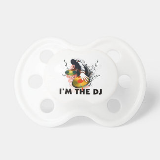 I'm The DJ Rockin The Turntables Pacifier