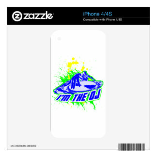 I'm the DJ Skins For iPhone 4S