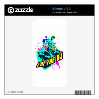 I'm the DJ Decal For iPhone 4