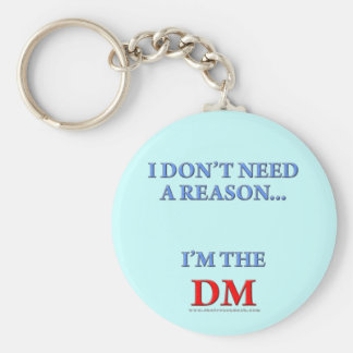 I'm the DM Key Chains