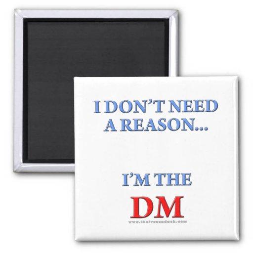 I'm the DM Magnets