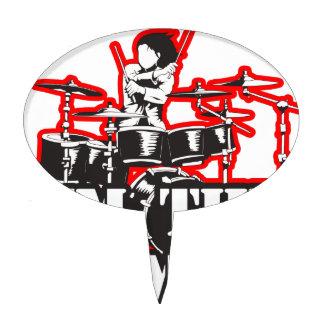 I'm the Drummer Cake Topper