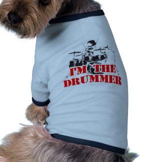 I'm the Drummer Dog T Shirt