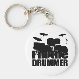 I'm the Drummer Keychain