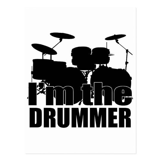 I'm the Drummer Postcard