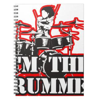 I'm the Drummer Spiral Notebook