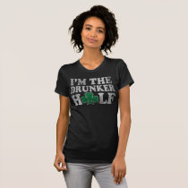 I'm The Drunker Half St Patrick's Day Couples T-Shirt