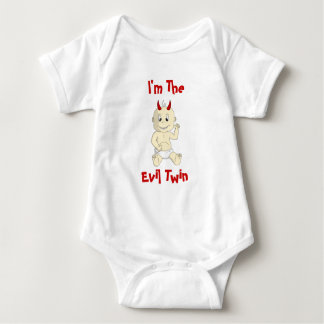 I'm the Evil Twin Baby Shirt