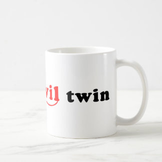 I'm The Evil Twin Classic White Coffee Mug