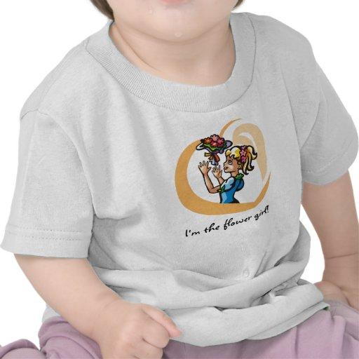 I'm the flower girl! T-shirt