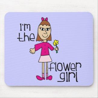 flower girls mousepad