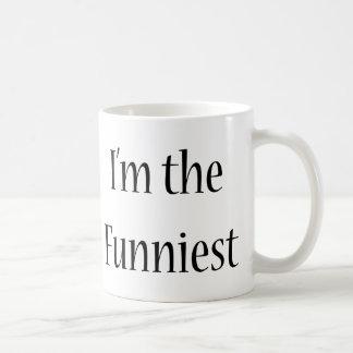 I'm The Funniest Classic White Coffee Mug