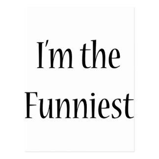 I'm The Funniest Postcard