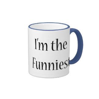 I'm The Funniest Ringer Coffee Mug