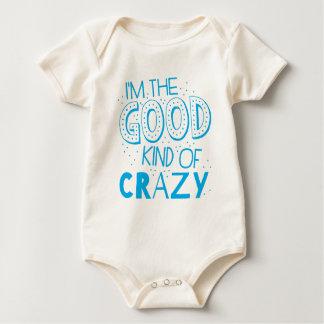im the good kind of crazy baby bodysuit