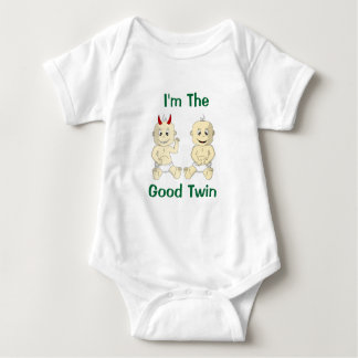 I'm The Good Twin Baby Shirt