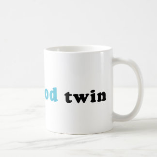 I'm The Good Twin Classic White Coffee Mug