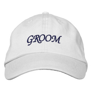I'm the Groom Adjustable Hat