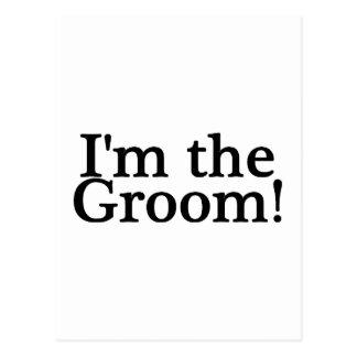 Im The Groom Postcard