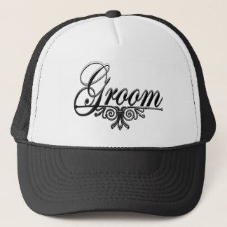 I'm The Groom Trucker Hat