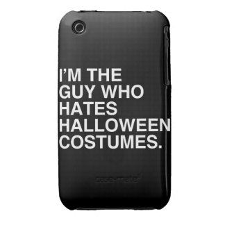 I'M THE GUY WHO HATES HALLOWEEN COSTUMES Case-Mate iPhone 3 CASE