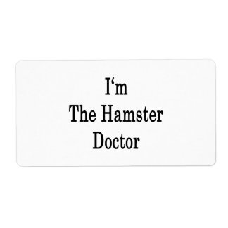 I'm The Hamster Doctor Personalized Shipping Labels