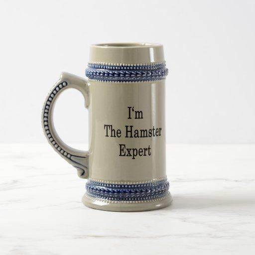 I'm The Hamster Expert 18 Oz Beer Stein