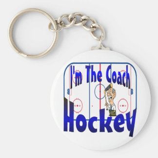 I'm The Hockey Coach Keychain