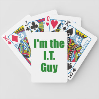 Im the IT Guy Bicycle Poker Deck