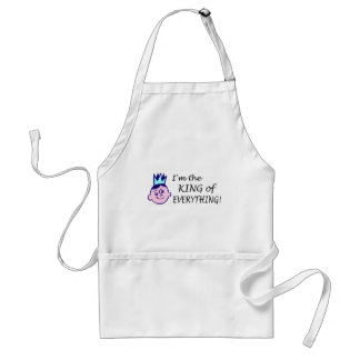 Im The King Of Everything Adult Apron