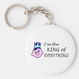 Im The King Of Everything Keychain