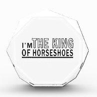 I'm The King Of Horseshoes Award
