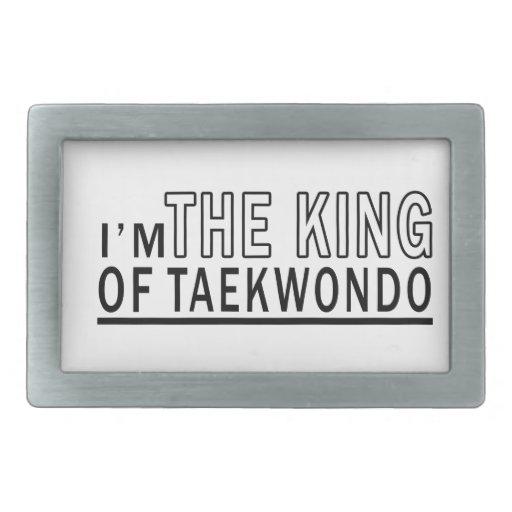 I'm The King Of Taekwondo Belt Buckles