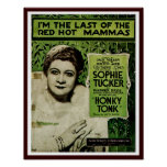 I'm The Last of the Red Hot Mammas Poster