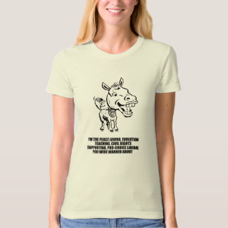 I'm the liberal you were warned about t shirt