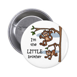 I'm the Little Brother button