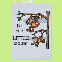 I'm the Little Brother card