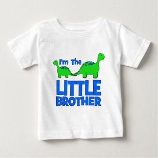 I'm The LITTLE BROTHER!  Custom Dinosaur Gift Baby T-Shirt