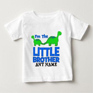 I'm The LITTLE BROTHER!  Custom Dinosaur Gift T Shirt